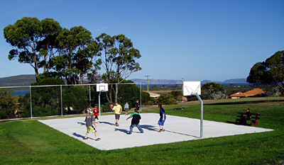 Outdoor Mini Court